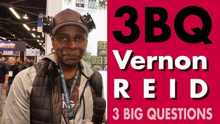 3 BIG QUESTIONS: Vernon Reid