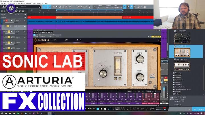 Sonic LAB: Arturia FX Collection