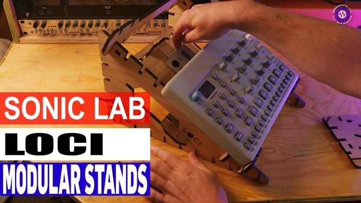 Sonic LAB: LOCI Modular Desktop Stands