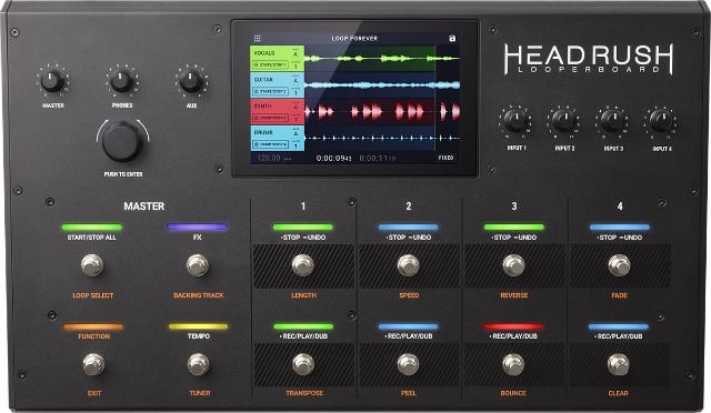HeadRush Looperboard Updated