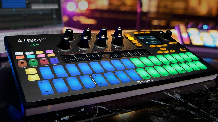 New Presonus Atom SQ Amps Up The Controller