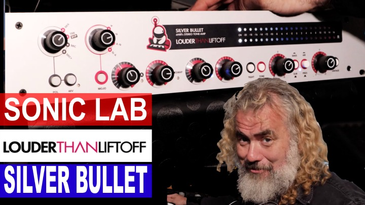 Sonic LAB: Louder Than Liftoff - Silver Bullet - Stereo Tone Amp