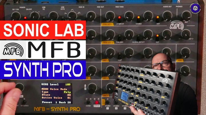 Sonic LAB - MFB Synth Pro - 8 Voice Desktop Poly
