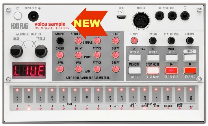 Korg Release New Volca Sample