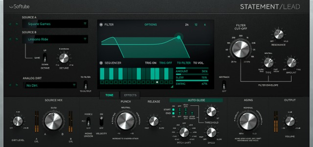 Softube Release Statement Lead Synthesizer