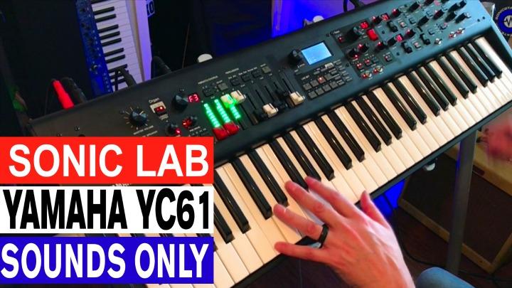 Yamaha YC-61 Sounds Only Demo