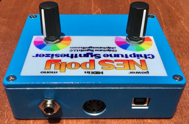 NES Poly Chiptune Synthesizer