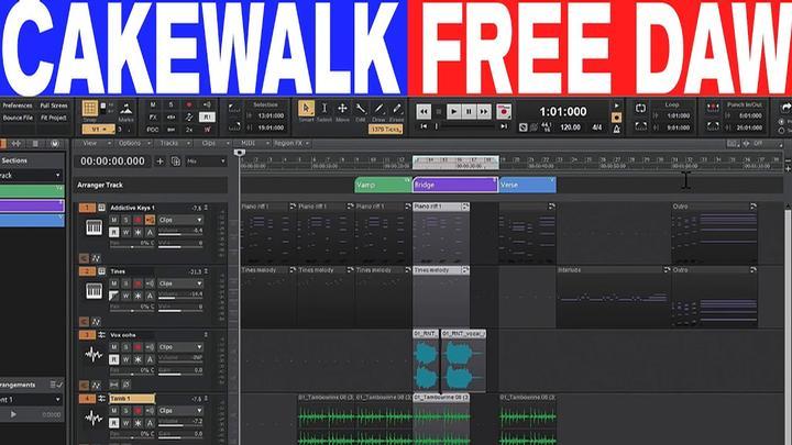 Presentation: Cakewalk - A Free DAW For PC
