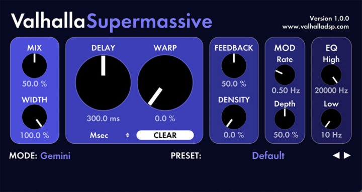 Free Valhalla Supermassive Reverb Just Got Even Better