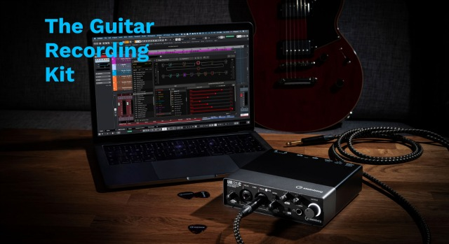 Steinberg Introduces The Guitar Recording Kit