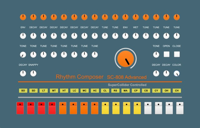 Experimental And Extended TR-808