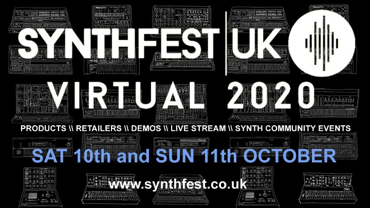 Synthfest Show Online This Weekend