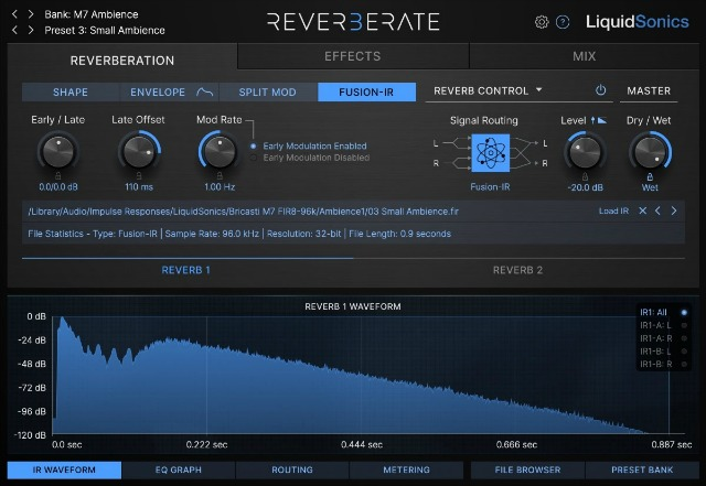 LiquidSonics Introduces Reverberate 3