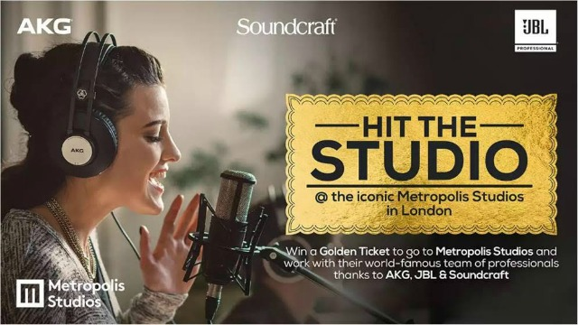 Win A Session At London's Metropolis Studios
