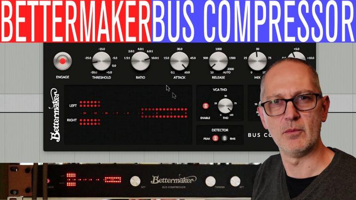 Sonic LAB: Bettermaker Hardware Bus Compressor