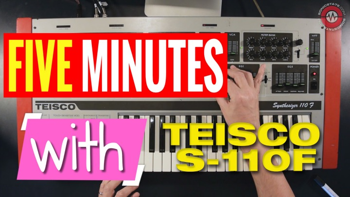 FIVE MINUTES WITH: Teisco 110F Synthesizer