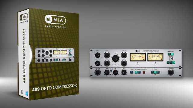 MIA Labs Releases 409 Opto Compressor
