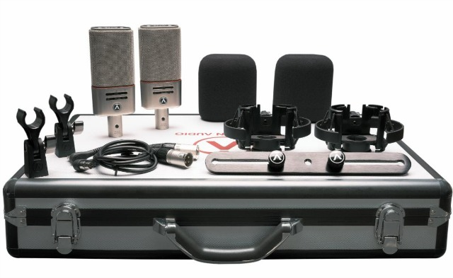 Microphone Package For Easy Stereo Recording
