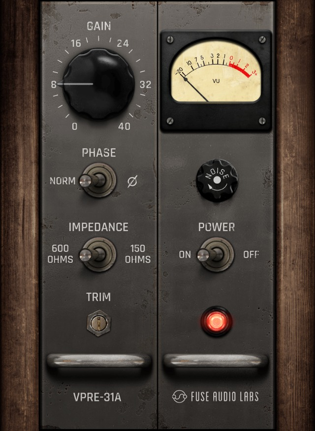 Vintage Germanium Preamp Emulated