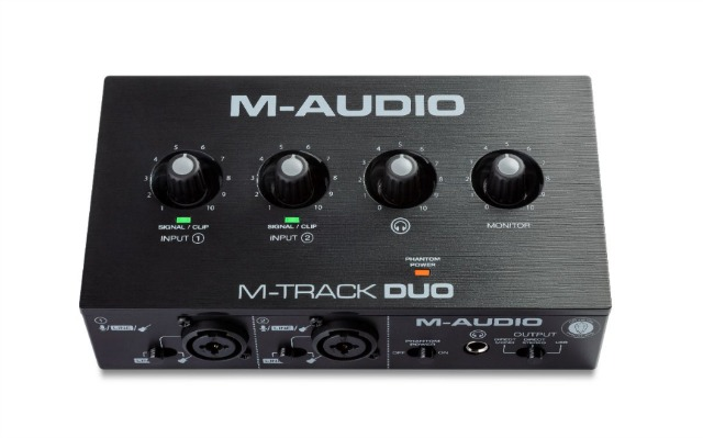 Ultra-Compact M-Audio Audio Interfaces