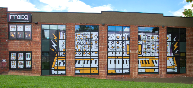 Moog Announces Factory Mural Contest