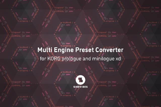 Preset Converter For Korg Synths