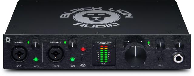 Black Lion Audio Introduces Revolution 2x2