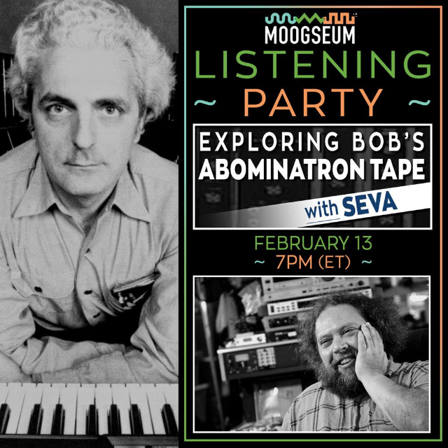 Moogseum Abominatron Listening Party