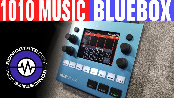 Sonic LAB: 1010 Music Bluebox Mixer/Recorder