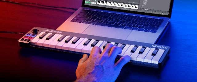 Three New Alesis MIDI Keyboard Controllers