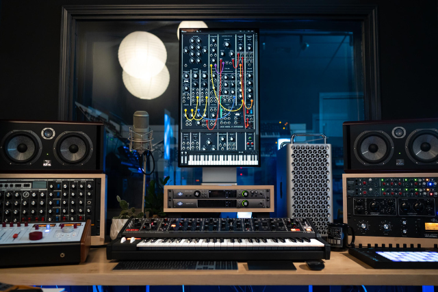 A Moog For Your Mac