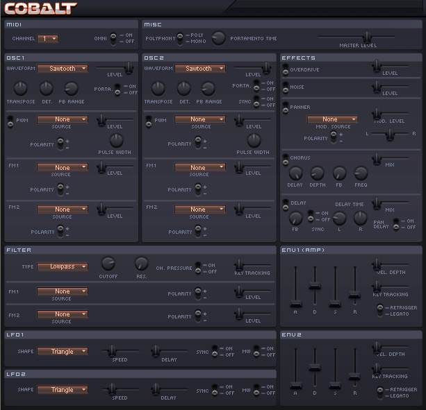 Cobal free VST synth plug-in