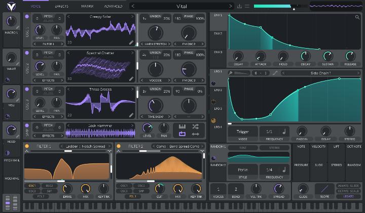 Vital free VST synth plug-in