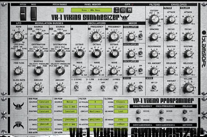 VK-1 Viking Free VST Synths