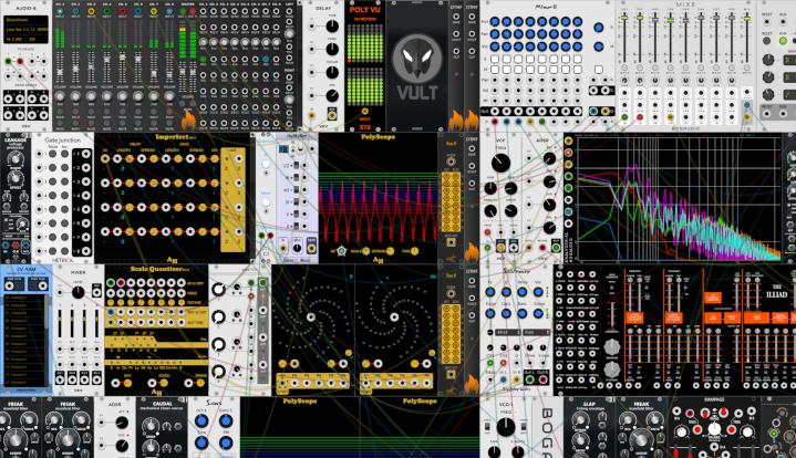 VCV Rack free modular Synth