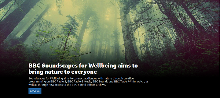 Chill Or Mix With 30,000 Free BBC Nature Soundscapes