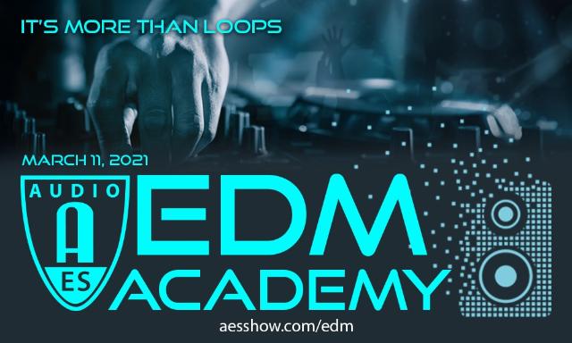 AES EDM Academy Online Event