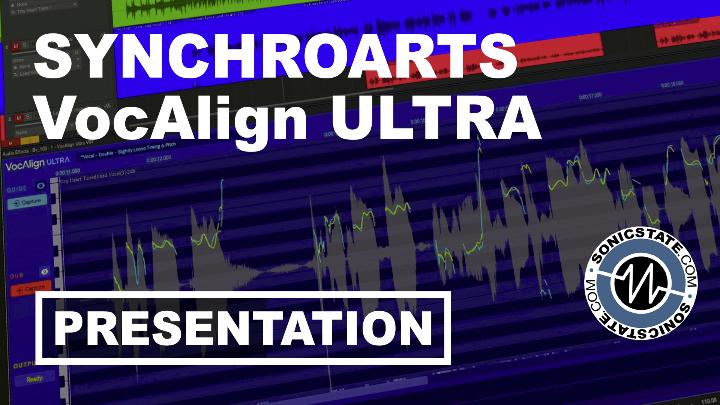 Presentation: Synchro Arts Vocalign Ultra