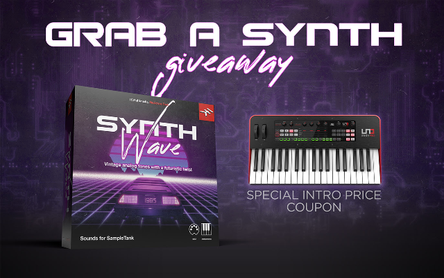Grab A Synth Giveaway