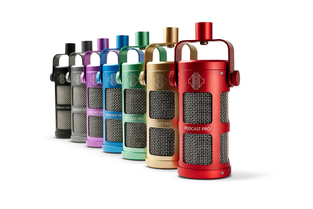 Sontronics Refreshes Podcast Pro Microphone