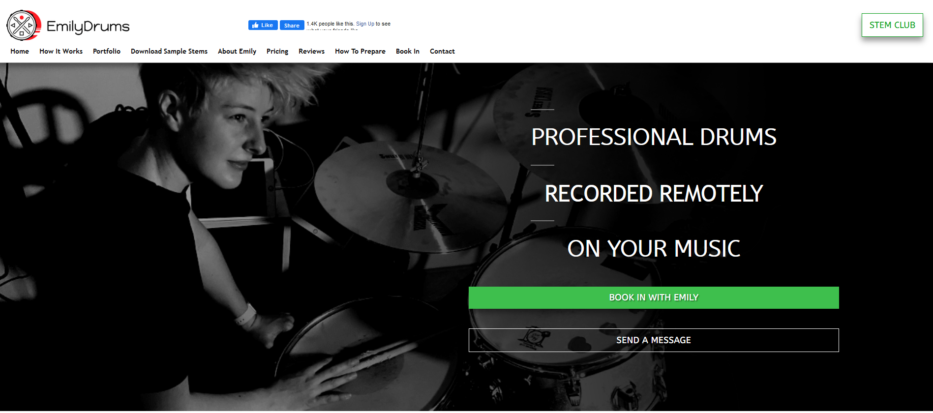 Book A Session With A Pro Drummer Or Get Free Drum Stems