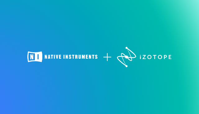 Native Instruments And iZotope Link Up