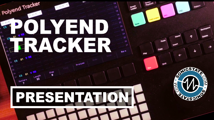 Presentation: Polyend Tracker With Bogdan Raczynski