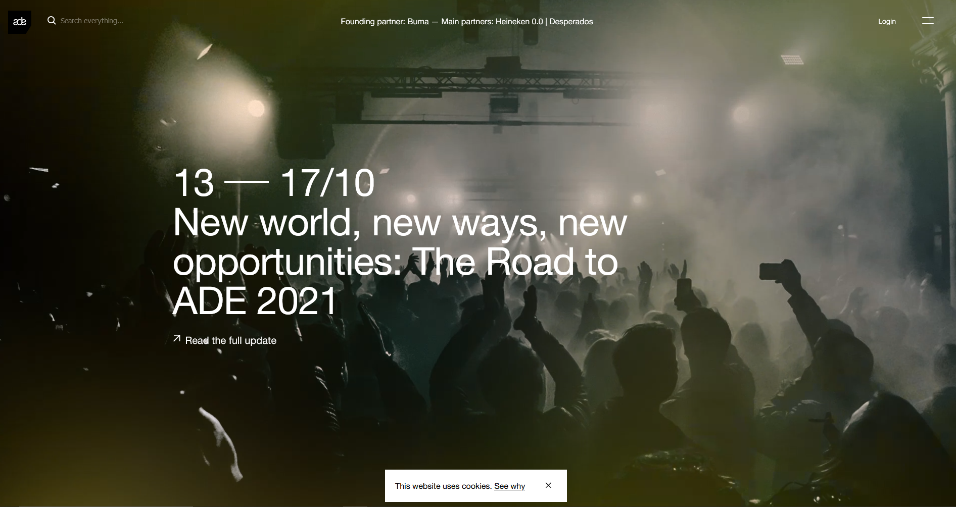ADE Announces In-Person Event for 2021