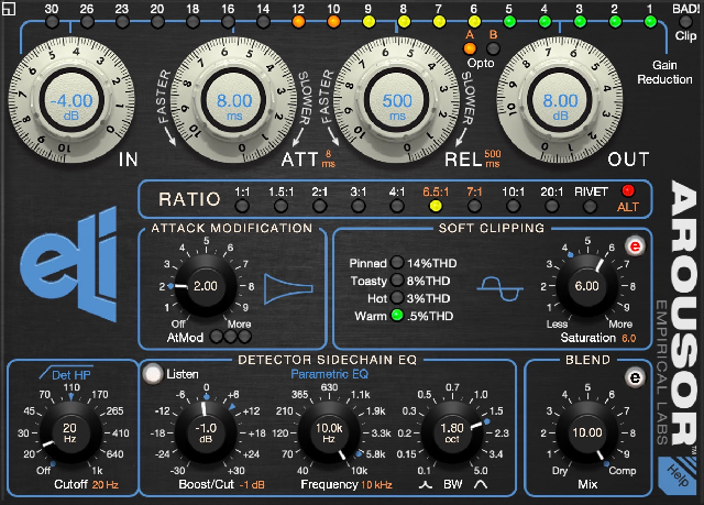 Empirical Labs Releases Rev 3 Of AROUSOR