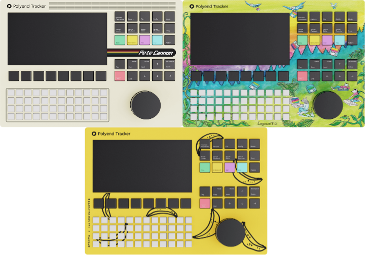 Polyend Introduce Tracker Limited Artist Editions