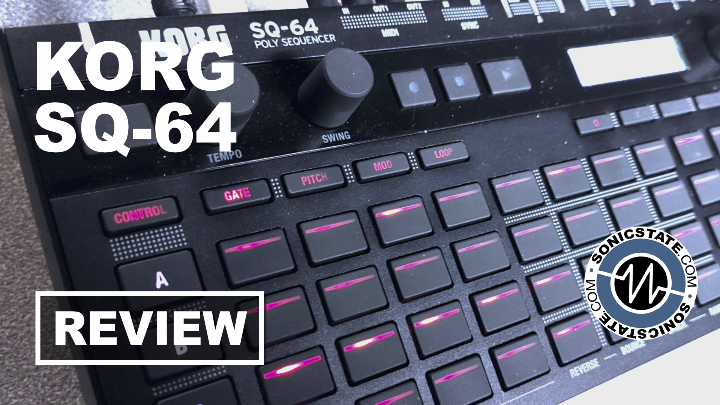 Sonic LAB: Korg SQ-64 Sequencer Review