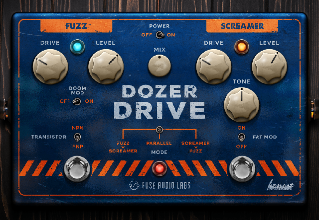 Fuzz, Overdrive, And Distortion Plug-In