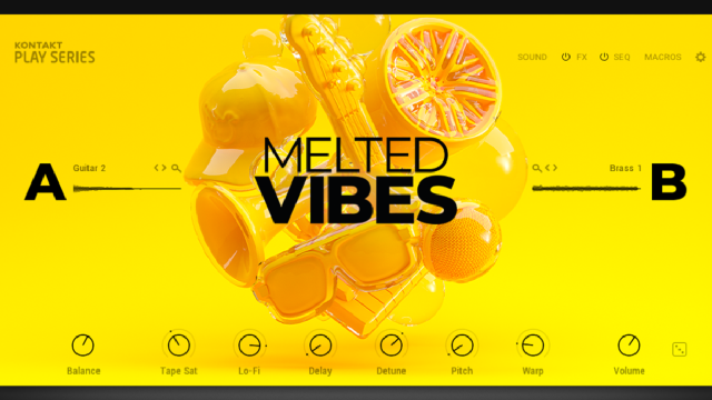 Native Instruments Releases MELTED VIBES
