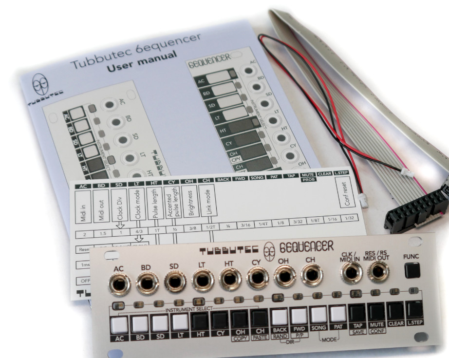 TR-606 Inspired Eurorack Drum Sequencer